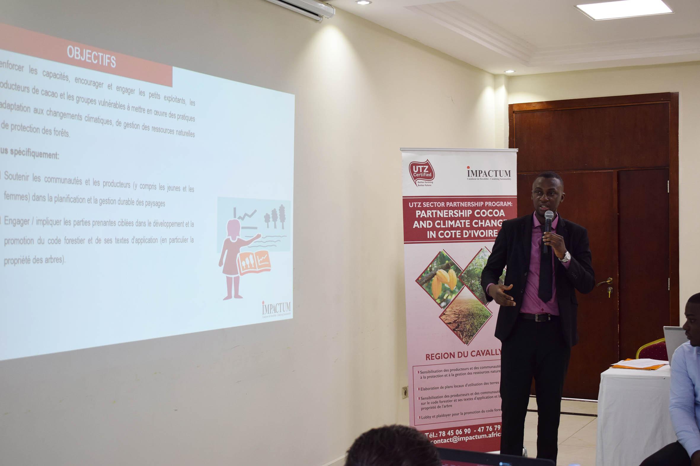 COMMUNIQUE DE PRESSE : Une coalition de la société civile et du secteur privé pour la vulgarisation du nouveau code forestier ivoirien.