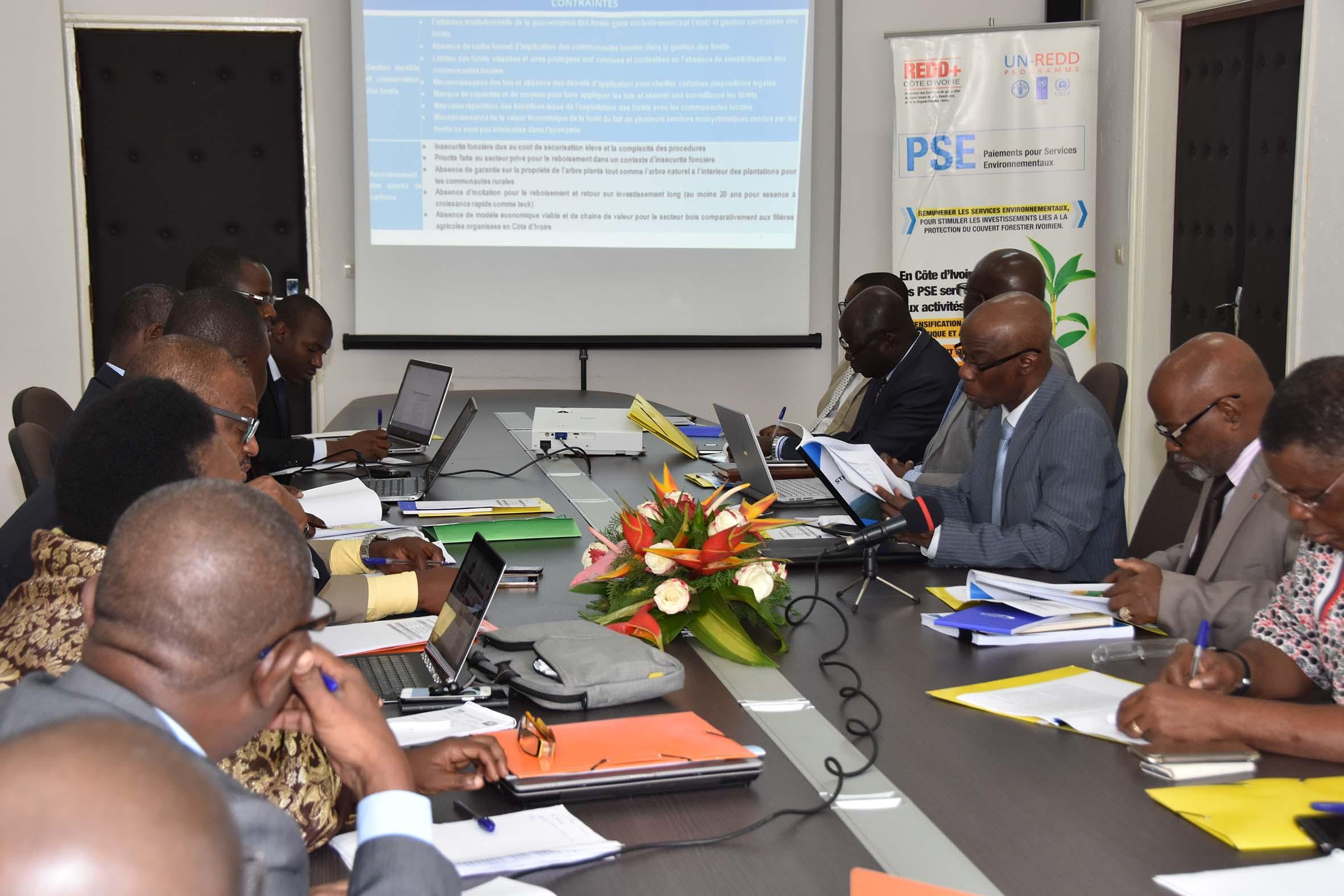 Réunion du Comité National élargi aux membres du Comité Technique interministériel.