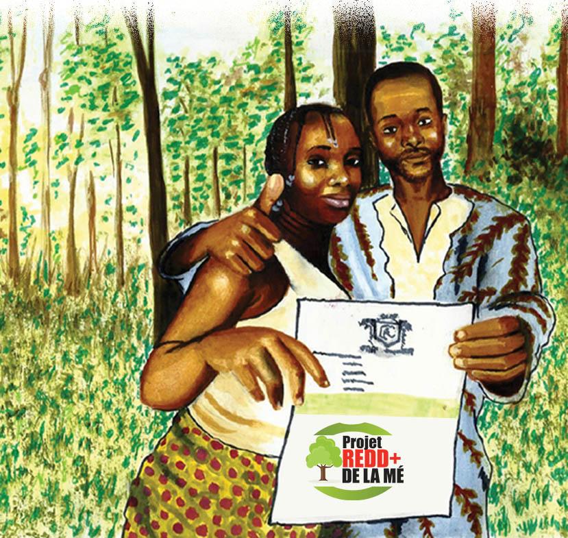 Mercredi 31 janvier 2018 : Mission de sélection des ONG/Organisation de la Société Civile, et définition du plan de travail pour la mise en œuvre du suivi communautaire des forêts dans la région de la Mé