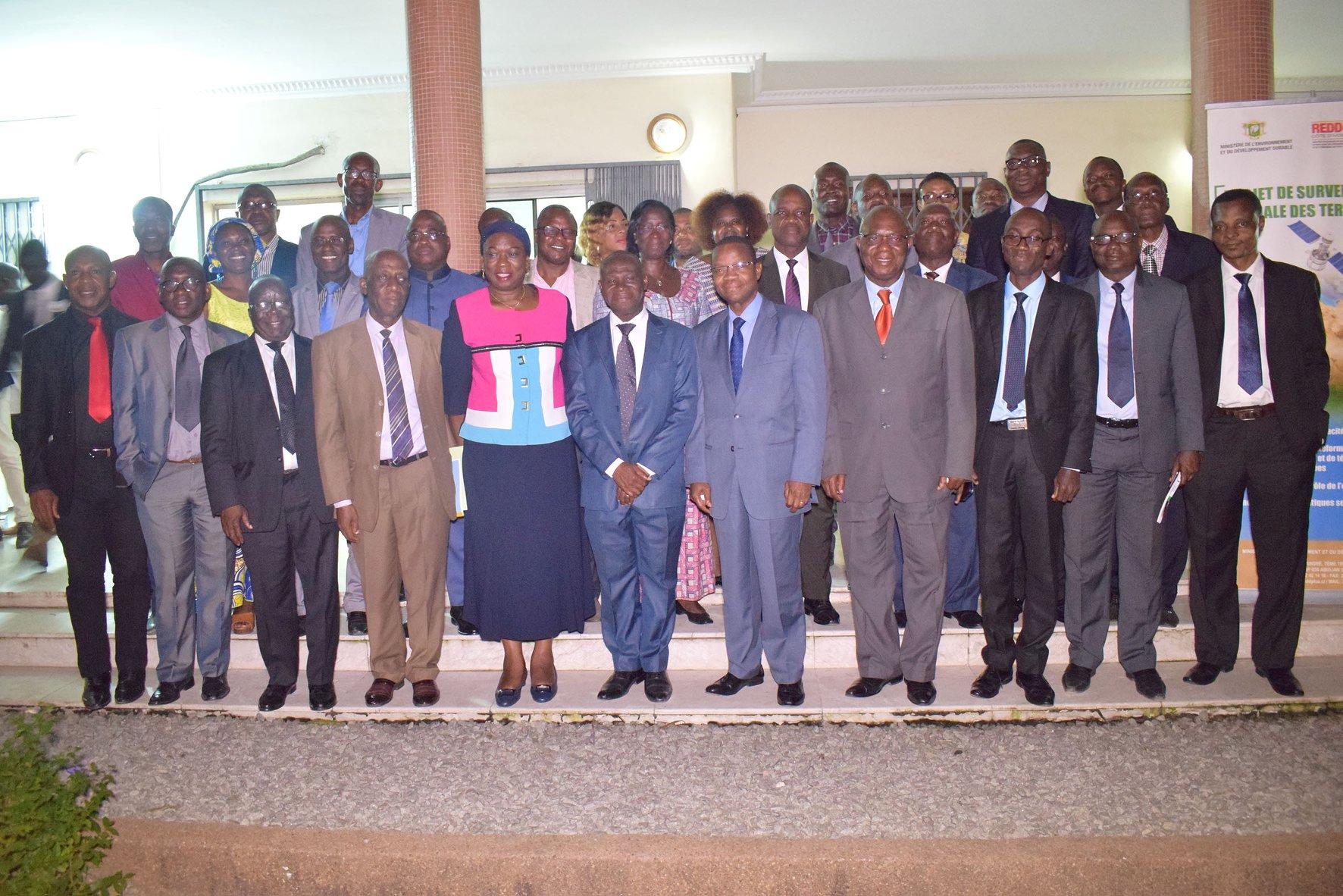 COMMUNIQUE DE PRESSE : « Les projets et les programmes sont la colonne vertébrale du Ministère de l'Environnement » – Ministre ivoirien de en charge de l'Environnement.