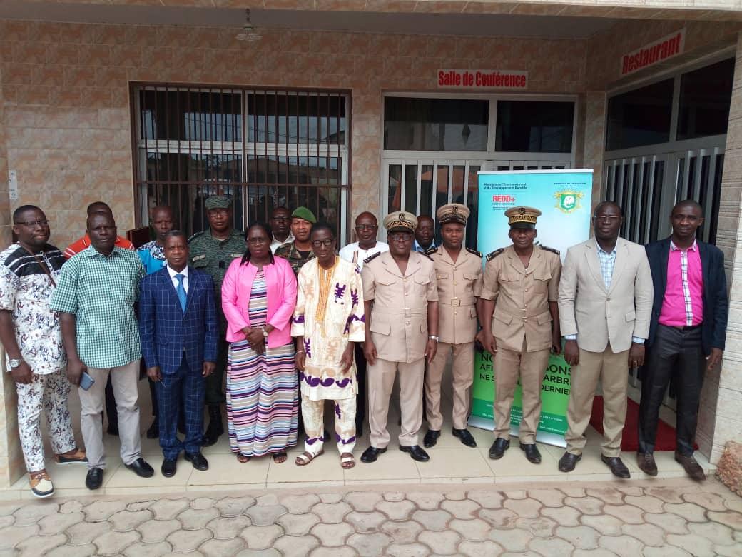 Communiqué de presse : Un comité régional REDD+ installé à Soubré