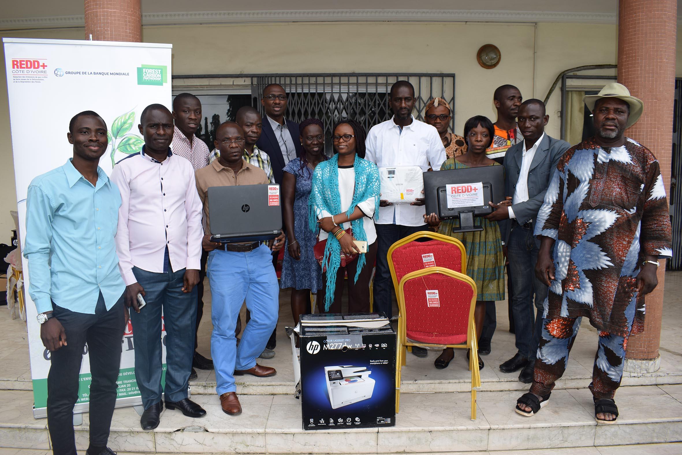 Lutte contre la déforestation en Côte d'Ivoire : La REDD+ renforce les capacités techniques et matérielles de la société civile