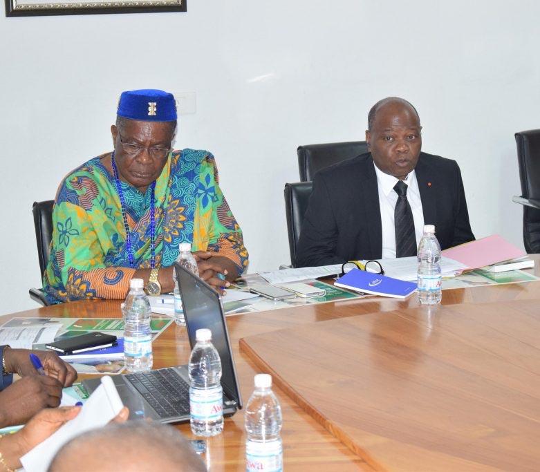 Mise en œuvre du mécanisme REDD+ en Côte d'Ivoire / La première réunion du Comité National de l'année 2017 organisée