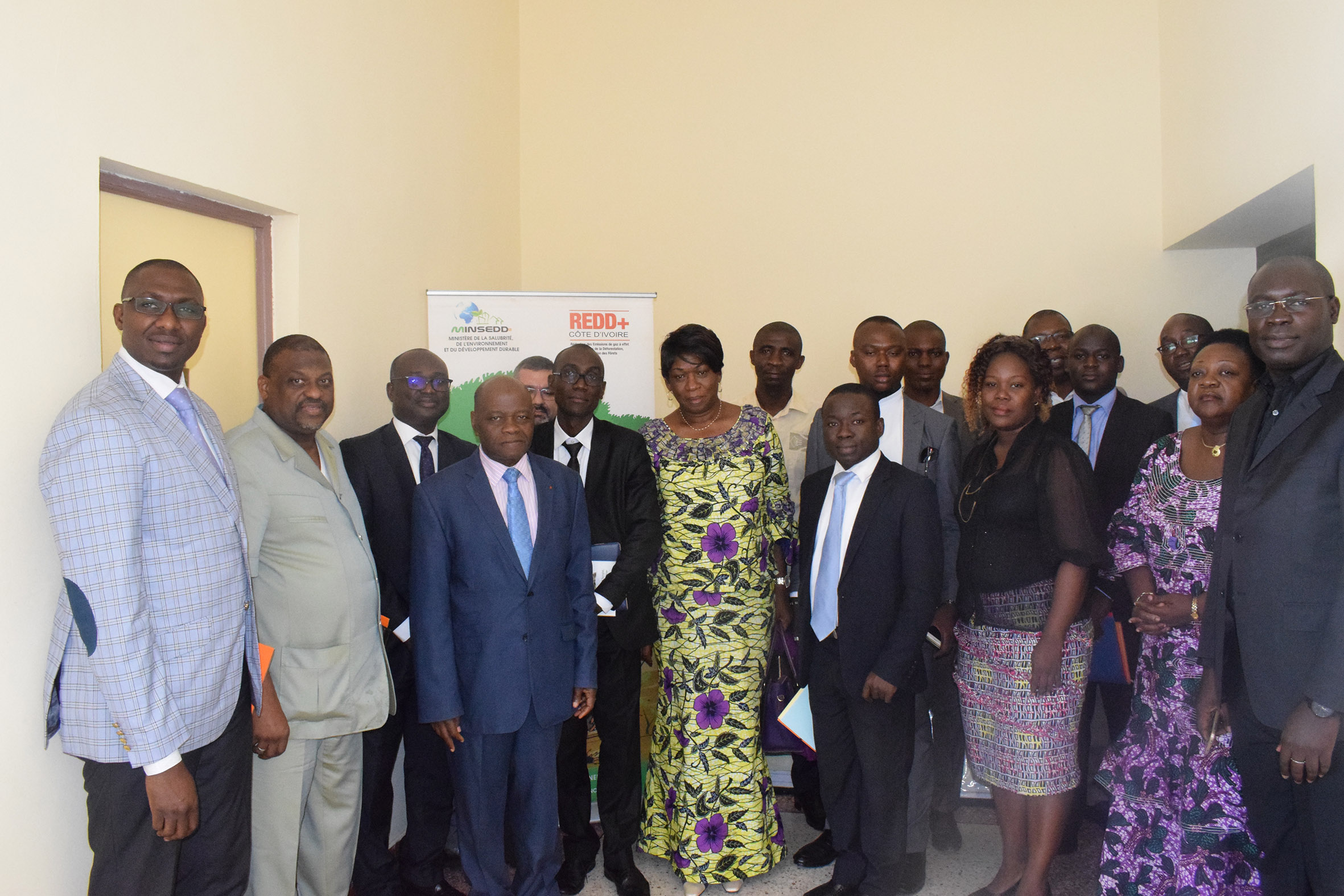 Réunion du comité national REDD+ élargie au comité technique interministériel