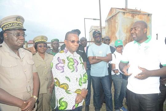 COMMUNIQUE DE PRESSE : COTE D'IVOIRE – Le Ministre en charge de l'environnement visite les chantiers de la REDD+ dans la région de la Mé